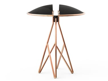 Brass table lamp with fixed arm BEETLE   Table lamp
