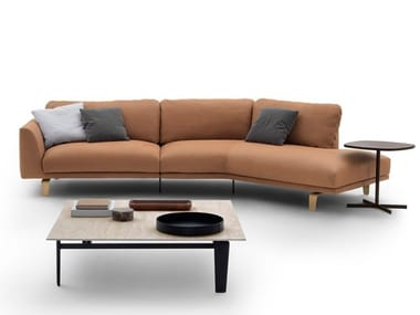 Sectional leather sofa BEL AIR | Leather sofa