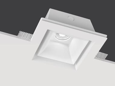 LED square recessed AirCoral® spotlight BELL