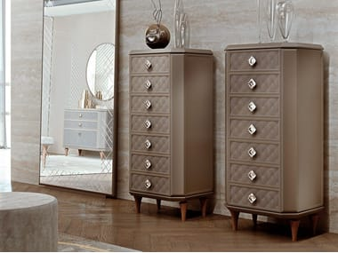 Wooden chest of drawers BELLAGIO HOME | Chest of drawers