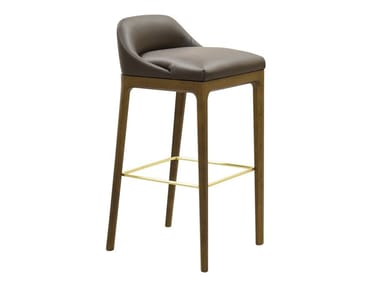 High upholstered barstool BELLAGIO | Stool