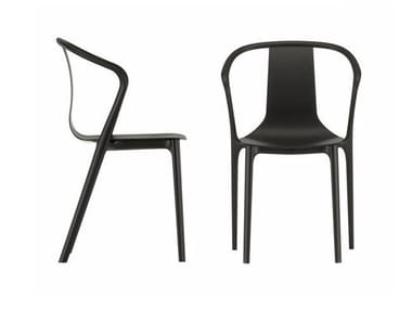 Stackable polyamide chair with armrests BELLEVILLE AMRCHAIR PLASTIC