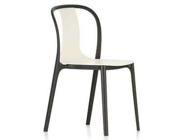 Stackable polyamide chair BELLEVILLE CHAIR PLASTIC