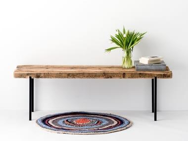 Reclaimed wood bench RECLAIMED WOOD BENCH #01