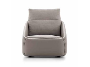 Upholstered armchair BEND | Armchair