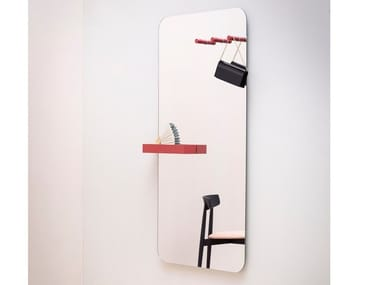 Wall-mounted hall mirror BENVENUTO