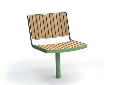 Silla para exteriores de madera BERLIN | Silla para exteriores