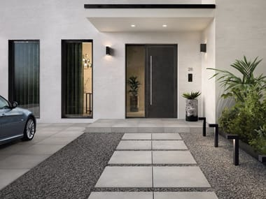 Porcelain stoneware outdoor floor tiles with stone effect BERNINA OUTDOOR
