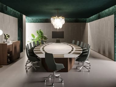 Natural Stone Meeting Tables Archiproducts - Stone conference table