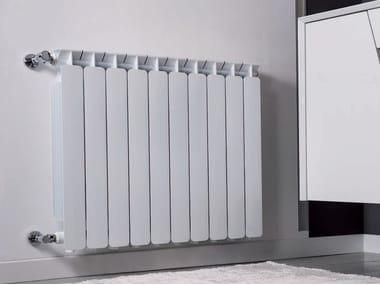 Hot-water wall-mounted die cast aluminium decorative radiator BEST