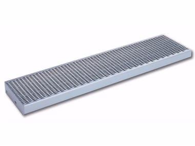 Gradino in acciaio zincato BETA | Gradino