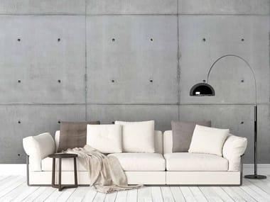 Digital printing wallpaper with concrete effect BETON