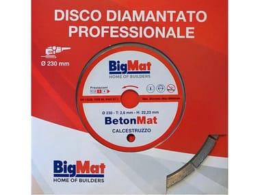 Disco diamantato da taglio BETONMAT