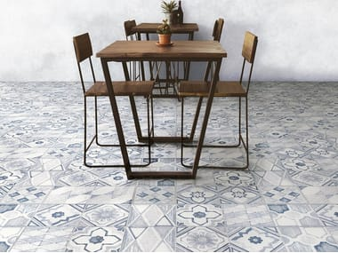 Glazed stoneware wall/floor tiles BETONSTIL MIXDECÒ