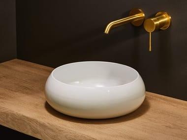 Vasque à poser rond en acier BETTECRAFT