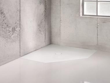 Corner flush fitting shower tray BETTEFLOOR CARO