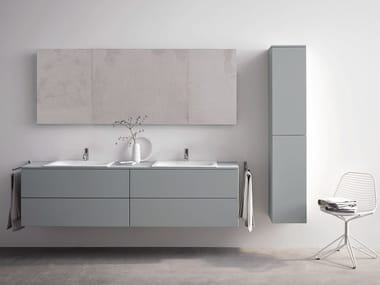 Double wall-mounted vanity unit BETTEMODULES | Double vanity unit
