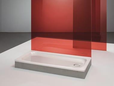 Piatto doccia rettangolare in acciaio smaltato BETTESUPRA | Piatto doccia rettangolare