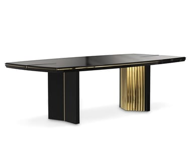 Lacquered rectangular dining table BEYOND | Lacquered table
