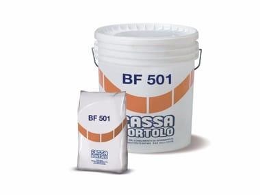 Trattamento cementizio per protezione delle barre d'armatura BF 501