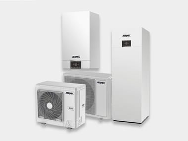 Air to water heat pump BHP
