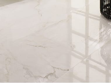 Wall/floor tiles with marble effect BIANCO CARRARA