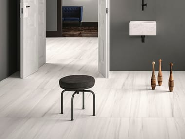 Wall/floor tiles with marble effect BIANCO STRIATO