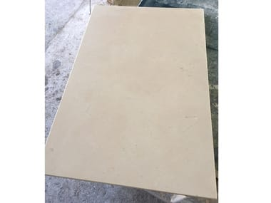 Rectified natural stone flooring BIANCONE MURGIA