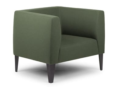 Armchair with armrests BIBLIS | Armchair