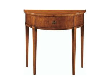 Demilune Cherry Wood Console Table BIEDERMEIER | Console Table