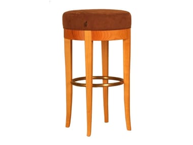 Upholstered barstool BIEDERMEIER | Stool