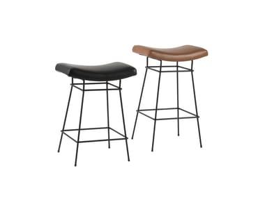 Upholstered barstool BIENAL | Stool