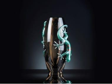 Glass vase BIG 2 GECKOS
