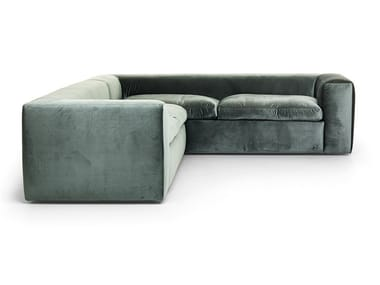 Corner sectional velvet sofa BIG BUBBLE | Sectional sofa