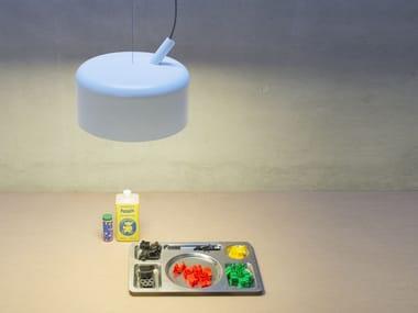 Lampada a sospensione in alluminio HÄGAR