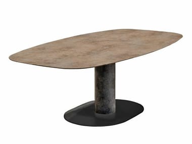 Ovaler Gartentisch BIG LOW | Ovaler Tisch
