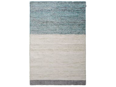 Handmade rectangular rug BIG SUR