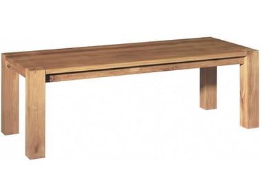 Tavolo rettangolare in legno massello BIGFOOT ™