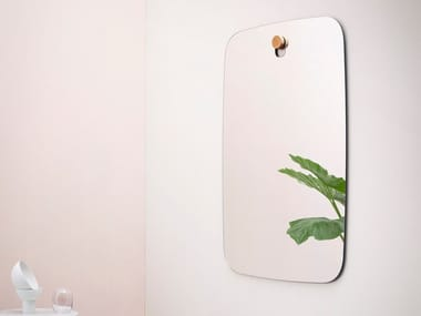 Wall-mounted rectangular mirror BIGGER BROTHERS | Rectangular mirror