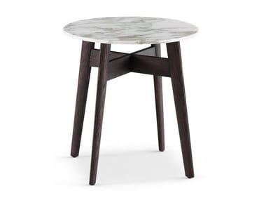 Tavolino rotondo in marmo BIGGER | Tavolino