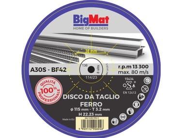 Disco da taglio BIGMAT DISCO DA TAGLIO PRO FERRO - 115