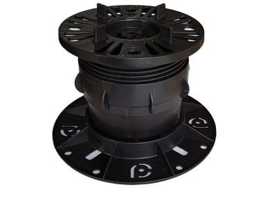 Sistema modulare per pavimento sopraelevato BIGSUPPORT TUBE SYSTEM