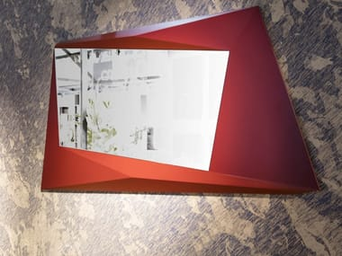 Wall-mounted framed mirror BIGXY