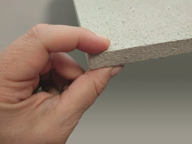 Expanded perlite Natural insulating felt and panel for sustainable building BILIFE® SANUS