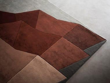Patterned rug BILOBA