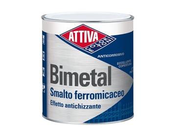 Smalto anticorrosivo ad effetto antichizzato BIMETAL