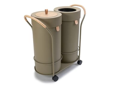 Metal litter bin / Planter BIN THERE L