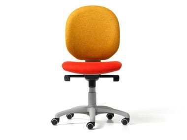 Height-adjustable fabric office chair with 5-Spoke base BINGO | Office chair