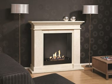 Bioethanol wall-mounted fireplace BIO KOS SUITE