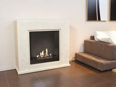 Bioethanol wall-mounted fireplace BIO QUADRO SUITE